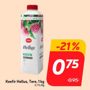 Allahindlus - Keefir Hellus, Tere, 1 kg
