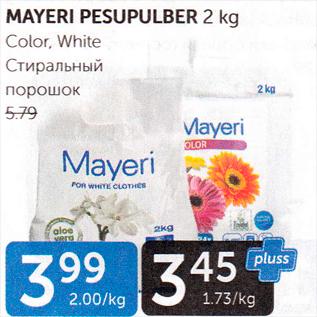 Allahindlus - MAYERI PESUPULBER 2 kg