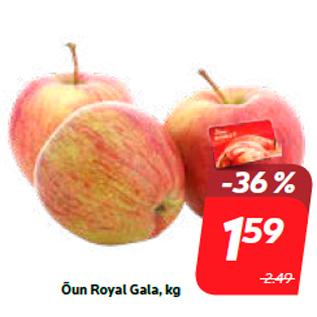 Allahindlus - Õun Royal Gala, kg