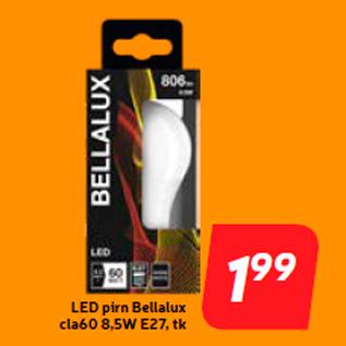 Allahindlus - LED pirn Bellalux cla60 8,5W E27, tk