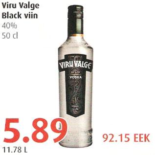 Allahindlus - Viru Valge Black viin
