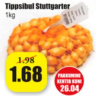 Allahindlus - Tippsibul Stuttgarter 1 kg