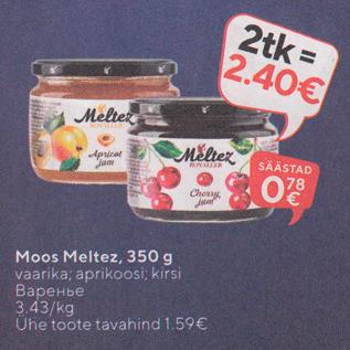 Allahindlus - Moos Meltez, 350 g