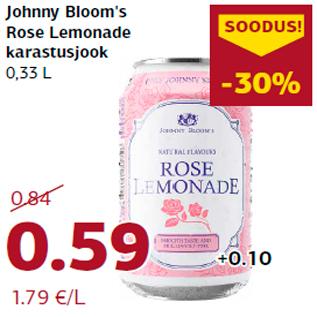 Allahindlus - Johnny Bloom