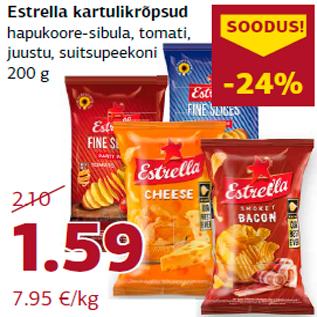Скидка - Картофельные чипсы Estrella