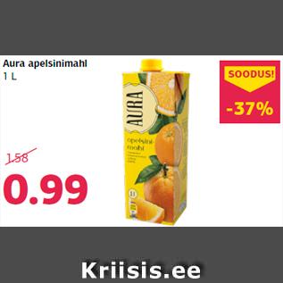Allahindlus - Aura apelsinimahl 1 L