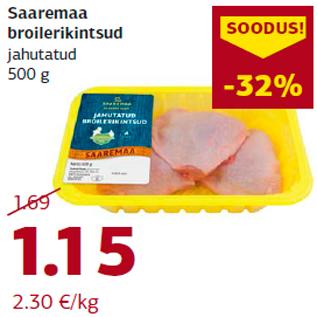 Allahindlus - Saaremaa broilerikintsud