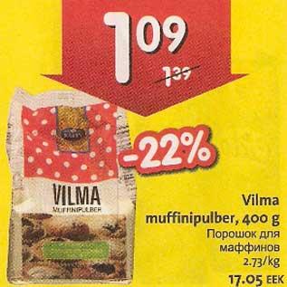 Allahindlus - Vilma muffinipulber