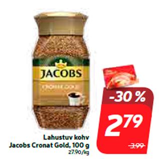 Скидка - Кофе растворимый Jacobs Cronat Gold, 100 г