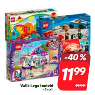 Allahindlus - Valik Lego tooteid