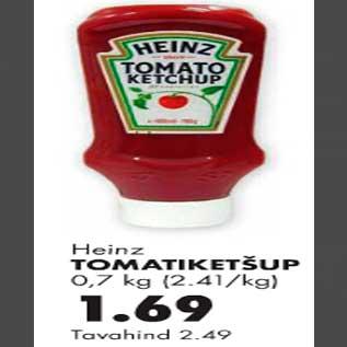 Allahindlus - Heinz tomatiketšup
