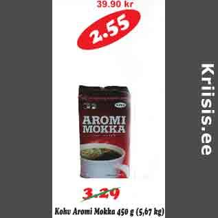 Allahindlus - Kohv Aromi Mokka 450 g
