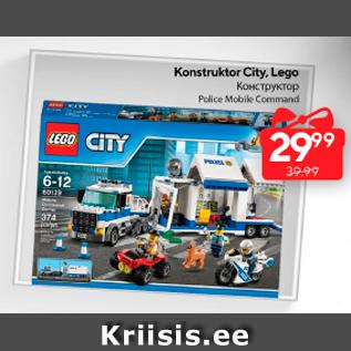 Allahindlus - Konstruktor City, Lego