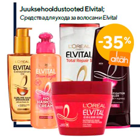 Juuksehooldustooted Elvital  -35%