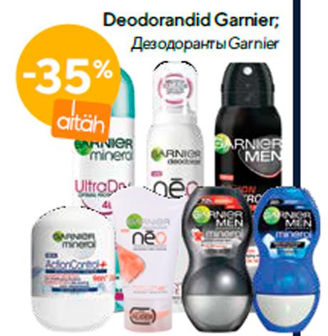 Deodorandid Garnier  -35%