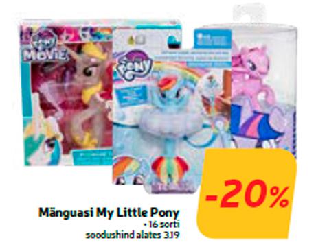 Mänguasi My Little Pony  -20%