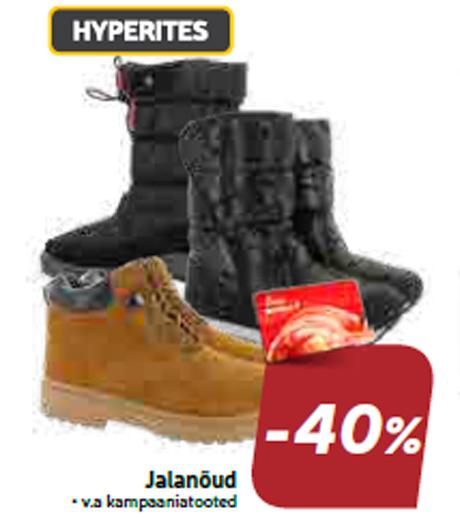 Jalanõud  -40%