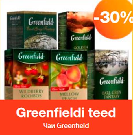 Greenfieldi teed   -30%