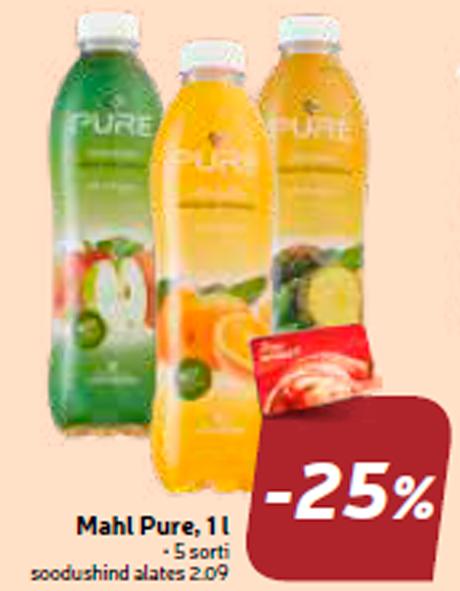 Mahl Pure, 1 l  -25%