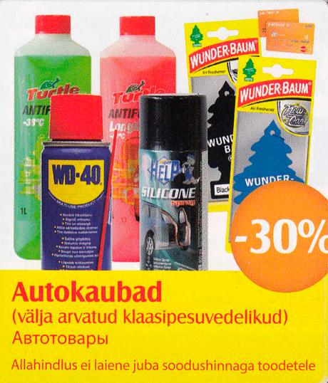 Autokaubad  -30%