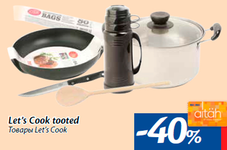 Let's Cook tooted -40%