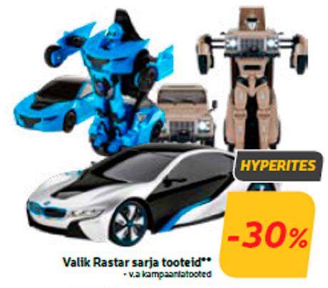 Valik Rastar sarja tooteid** -30%