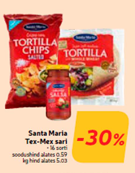 Santa Maria Tex-Mex sari  -30%