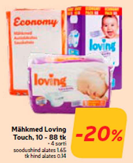 Mähkmed Loving Touch, 10 - 88 tk  -20%