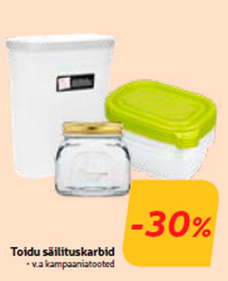 Toidu säilituskarbid  -30%