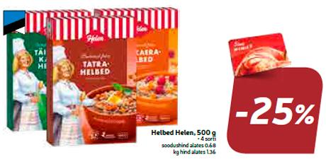 Helbed Helen, 500 g  -25%