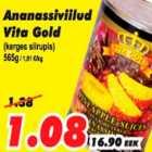 Allahindlus - Ananassiviilud Vita Gold (kerges siirupis)