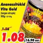 Allahindlus - Ananassitükid Vita Gold (kerges siirupis)