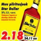 Allahindlus - Muu piiritusjook Star Dollar