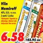 Allahindlus - Viin Nemiroff
