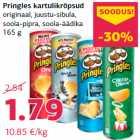 Allahindlus - Pringles kartulikrõpsud