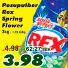 Allahindlus - Pesupulber Rex Spring Flower