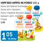 Allahindlus - HIPP BIO HIPPIS 4K PÜREE 100 g