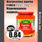Marineeritud paprika Frutico