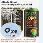 Allahindlus - Alkoholijook Saku Long Drink