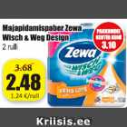 Allahindlus: Majapidamispaber Zewa Wisch & Weg Design