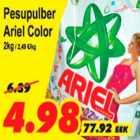 Allahindlus - Pesupulber Ariel Color