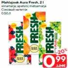 Allahindlus - Mahlajook Aura Fresh, 2 l