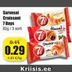Allahindlus - Sarvesai Croissant 7 Days