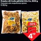 Kreeka või India pähklid Alis Co, 500 g