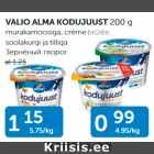 Allahindlus - VALIO ALMA KODUJUUST 200 G