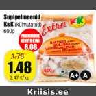 Магазин:Grossi,Скидка:Пельмени для супа К & К