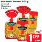 Allahindlus - Makaronid Panzani, 500 g