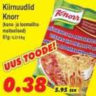 Allahindlus - Kiirnuudlid Knorr
