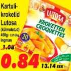 Магазин:Grossi,Скидка:Картофельные крокеты
