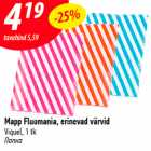 Mapp Fluomania, erinevad värvid Viquel, 1 tk